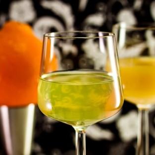 Kirkastettu appelsiinimehu
